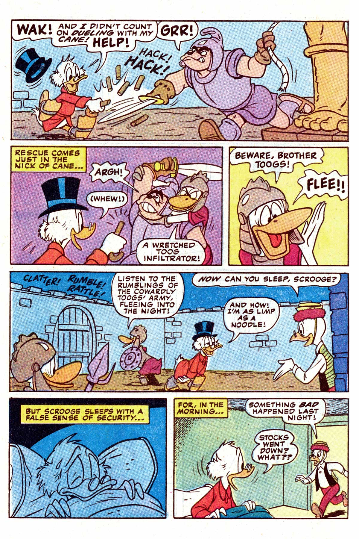 Read online Uncle Scrooge (1953) comic -  Issue #202 - 10