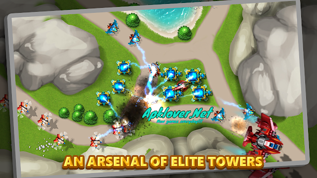 Tower Defense: Alien War TD 2 MOD APK unlimited money