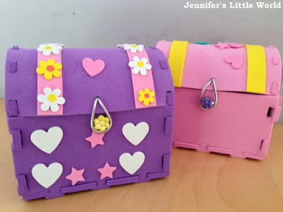 Treasure chest craft with Baker Ross