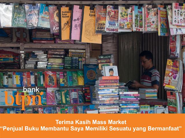 """Terima Kasih Mass Market, """"Penjual Buku Membantu Saya Memiliki Sesuatu yang Bermanfaat"""""""