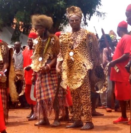 Ibe kachikwu At New yam Festival