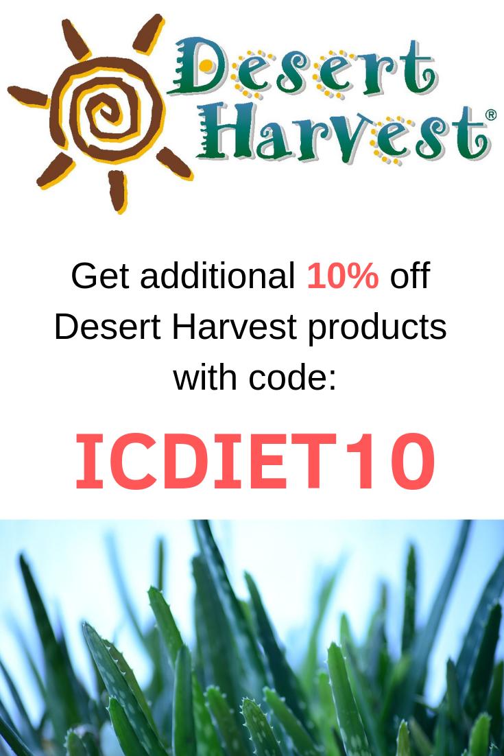 Interstitial Cystitis Diet Confident Choices How Desert Harvest
