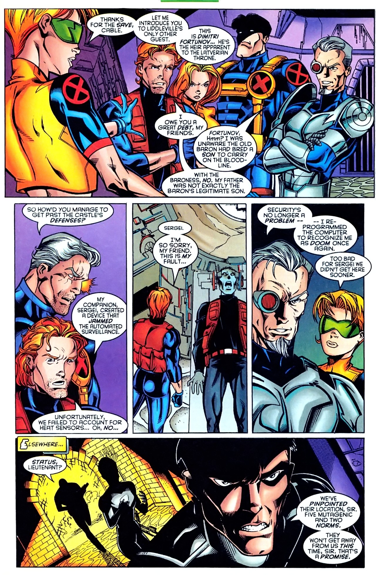 Read online X-Force (1991) comic -  Issue #63 - 27