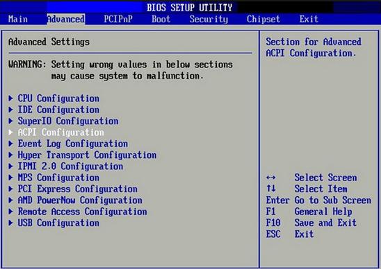 Cara Masuk BIOS dan Settting BIOS