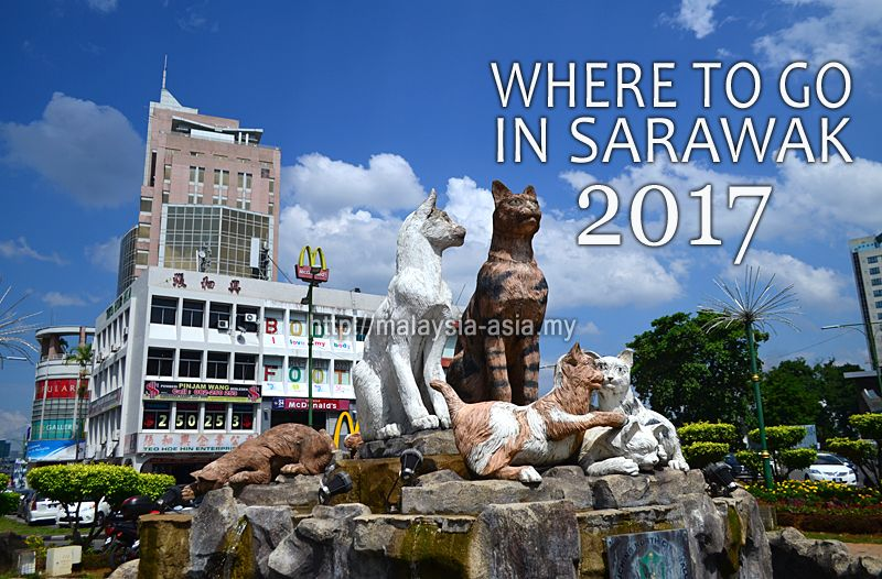Where to go in Sarawak