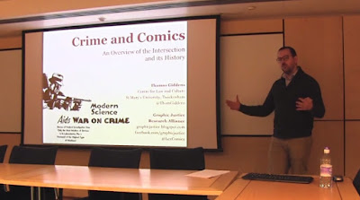 Comics/Crime Intersection and its History: Lecture Video
