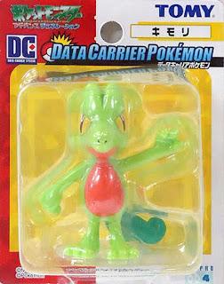 Treecko Tomy Data Carrier Pokemon Figure
