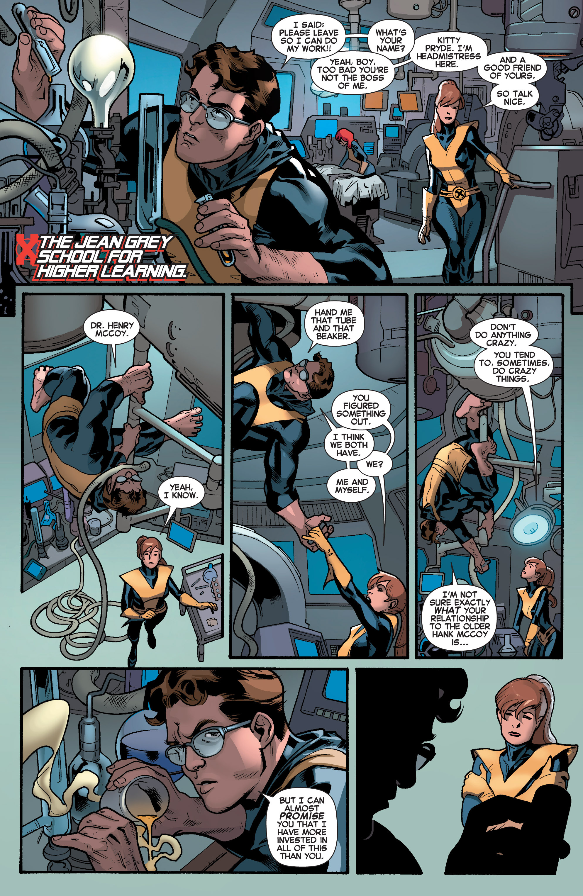 Read online All-New X-Men (2013) comic -  Issue # _Special - Yesterday's X-Men - 93