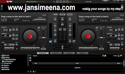 how to mix songs in virtual dj in hindi