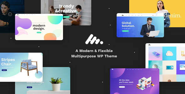 Moody v1.3.7 – A Modern & Flexible Multipurpose WordPress Theme Download