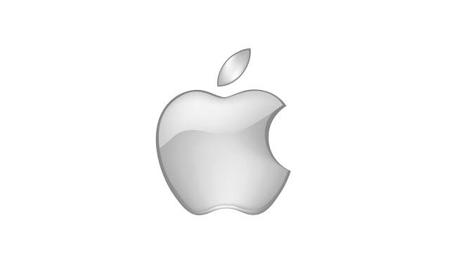 Gri Apple Logosu