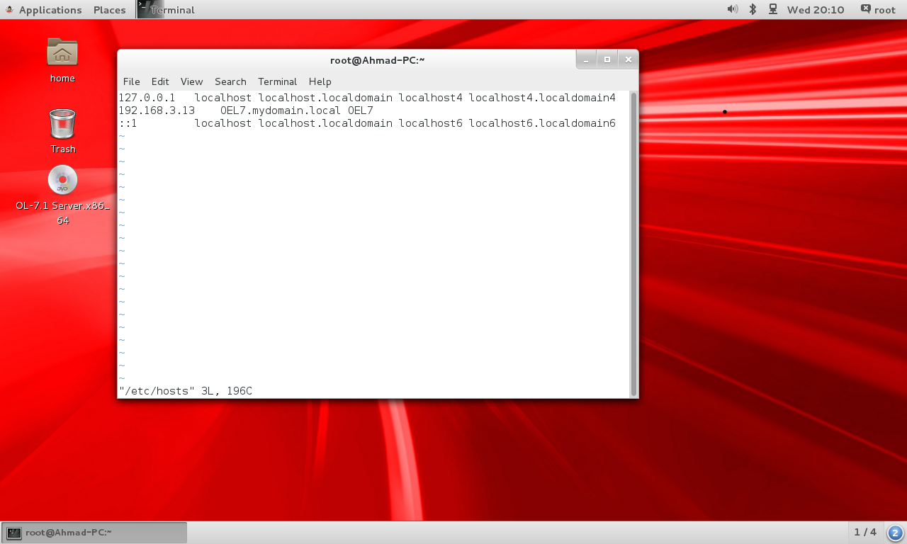 oracle linux 6.5 installer les outils vmware