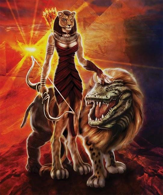 Sekhmet, a Deusa da Guerra, Destruição e Cura na Mitologia Egípcia