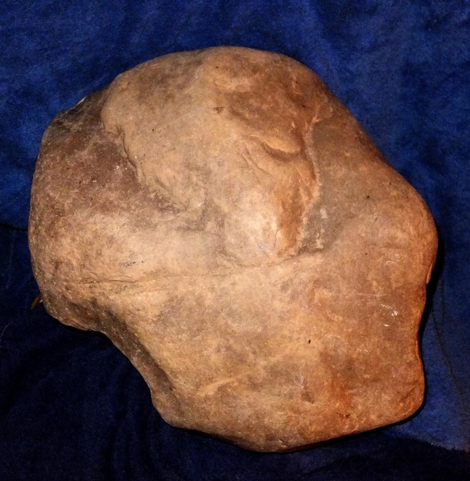 Ancient american stone art single artifact