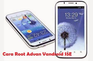 Cara Root Advan Vandroid S5E