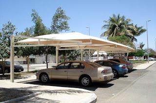 عمل وتركيب اجمل مظلات السيارات