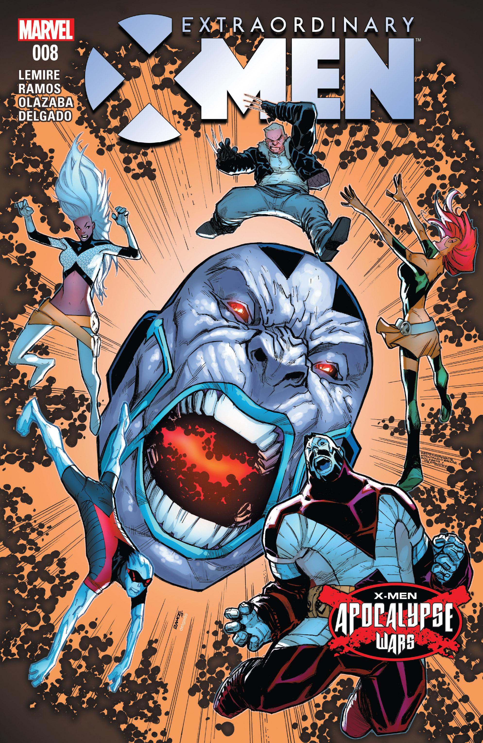 Extraordinary X-Men 8 Page 1