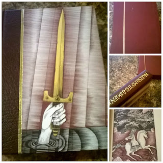 British Myths and Legends Folio Society