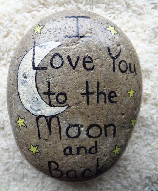 Piedra con mensaje