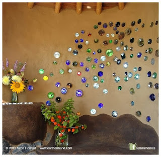 botelals de cristal recicladas