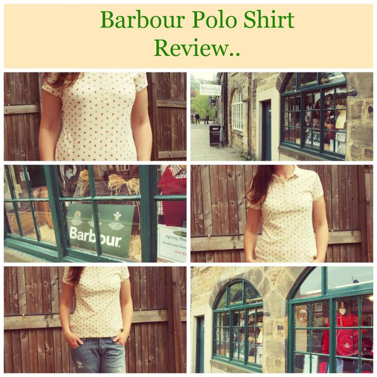 Barbour Polo Shirt: Review And What I wore Post