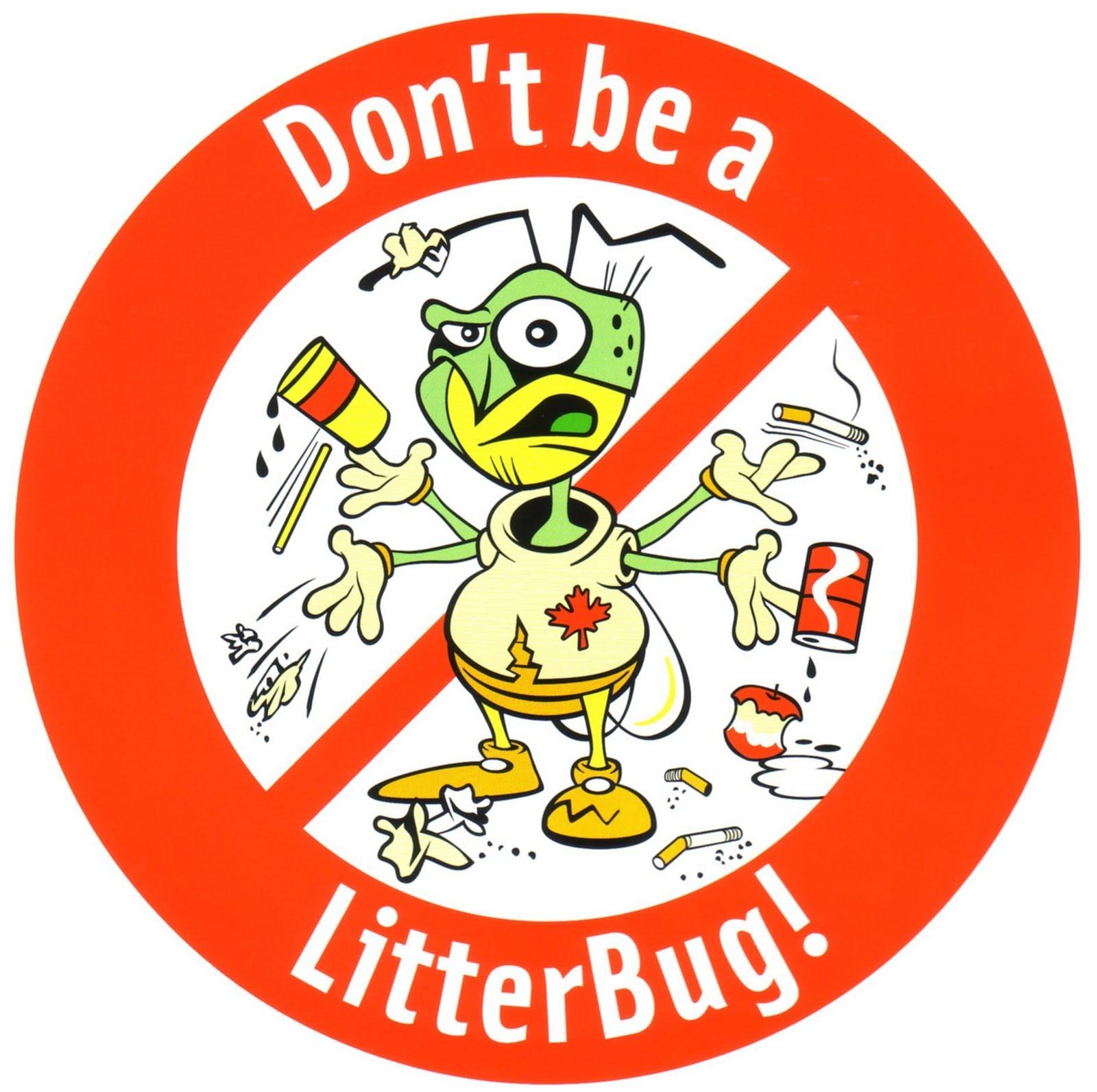 Four Green Girls Don T Be A Litterbug Tip 2