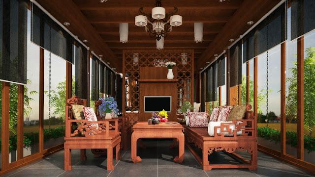 nội thất  nhà gỗ đẹp