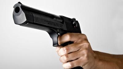 Resultado de imagem para imagem ilustrativa de uma pessoa com apontando um revolver