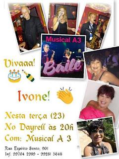 Baile de comemoração do aniversário de Ivone Lopes