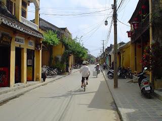 Strade di Hoian, Vietnam
