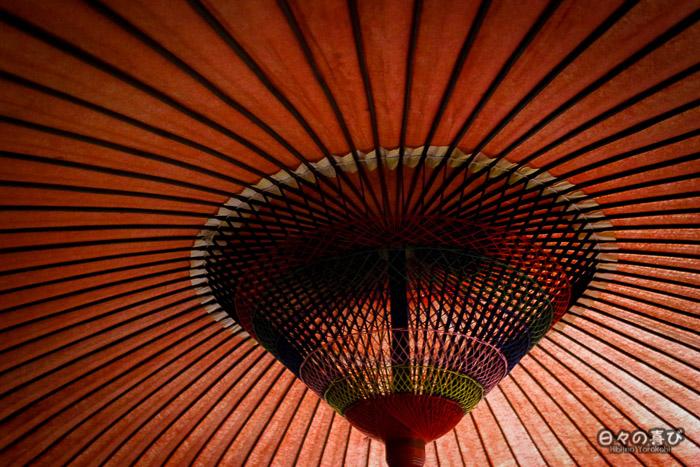 parasol japonais, kiyomizu-dera, kyoto
