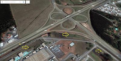 A próxima saída, já na Rodovia Campinas-Mogi Mirim (Rod. Gov. Dr. Adhemar Pereira de Barros), fica no km 157, que dá acesso à estrada até Itapira, a SP-147.