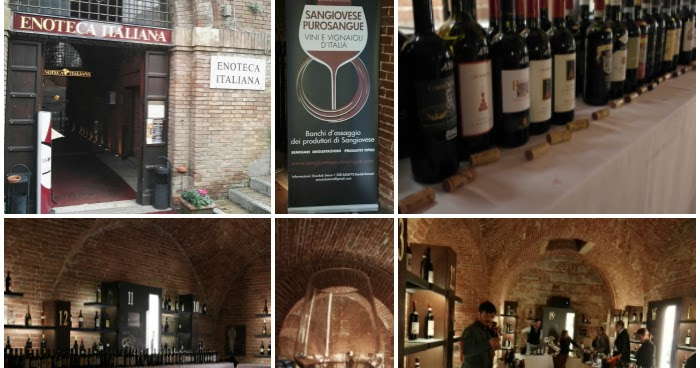 Full Immersion di Sangiovese presso l'Enoteca Italiana di Siena