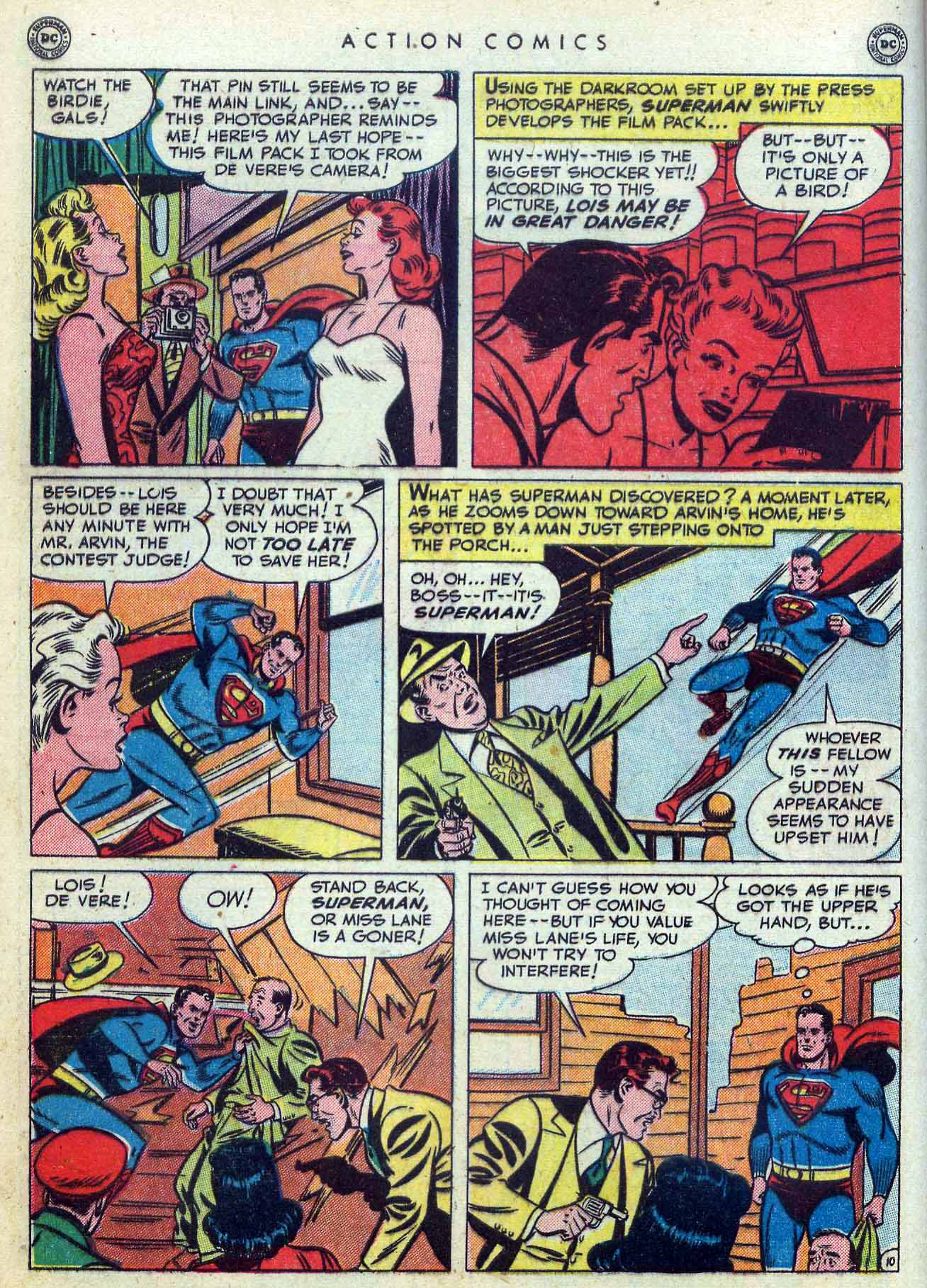 Read online Action Comics (1938) comic -  Issue #155 - 12