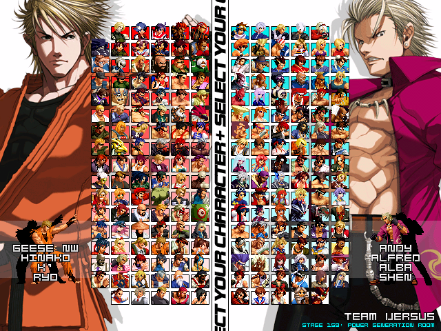The King of Fighters Anthology MUGEN V2 0 ~ MUGEN - Up