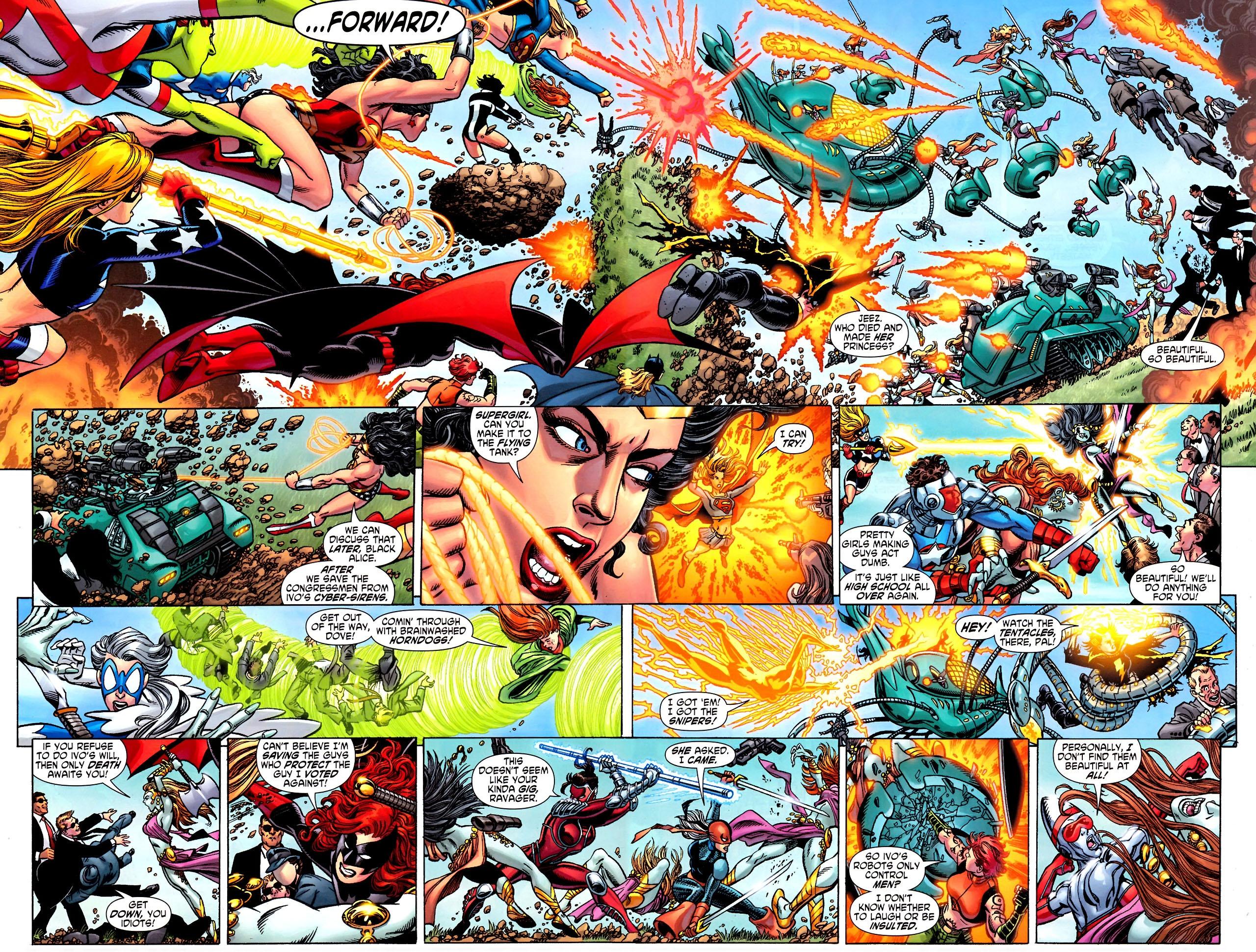 Read online Wonder Woman (2006) comic -  Issue #600 - 5