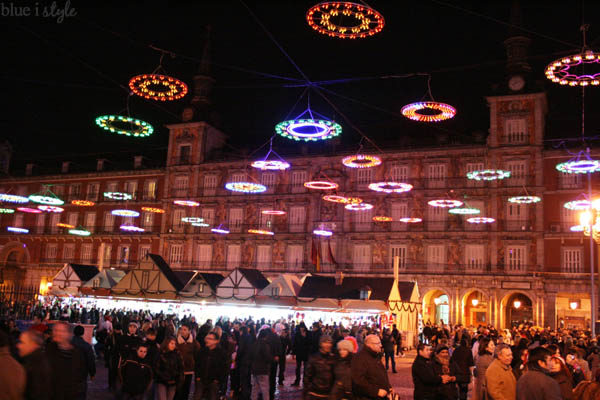 Madrid Plaza Mayor Christmas Market