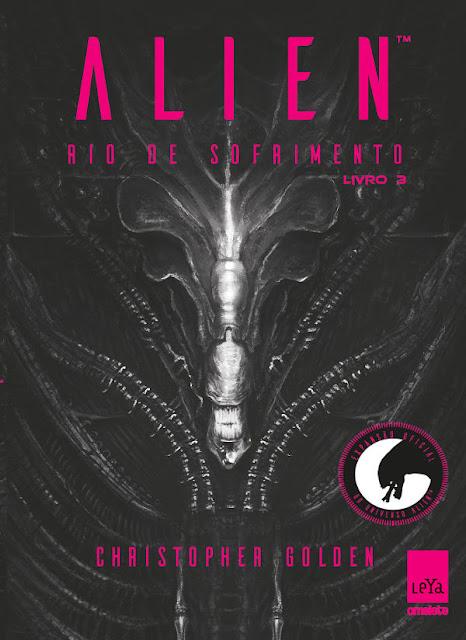 Alien Rio de sofrimento 3 Christopher Golden