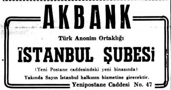 479: Adana'daki Kayserililerin Bankası