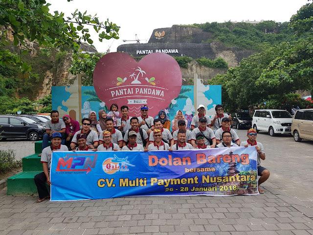 Dolang Bareng Master Dealer Market Pulsa CV. Market Cipta Payment di Bali