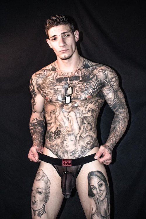 Naked tattoo men tumblr — 12