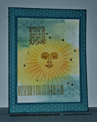c and Ray of Sunshine stamp sets http://stampwithtrude.blogspot.com