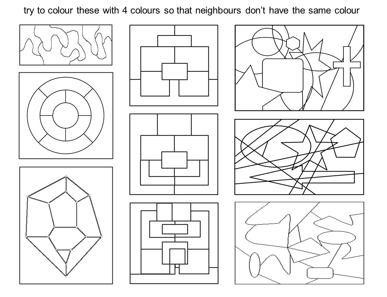 Median Don Steward Mathematics Teaching Four Colour Theorem
