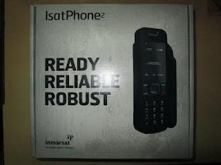Hape Satelit Inmarsat Isatphone 2 New Termasuk Perdana dan Pulsa 100 Unit
