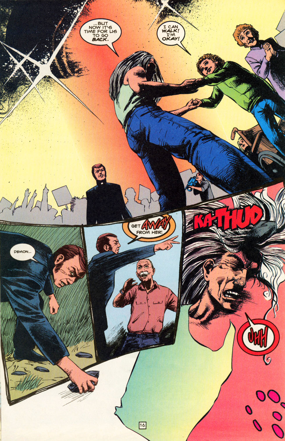 Read online Animal Man (1988) comic -  Issue #82 - 17