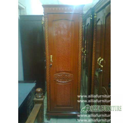 lemari pakaian triplek motif 1 pintu