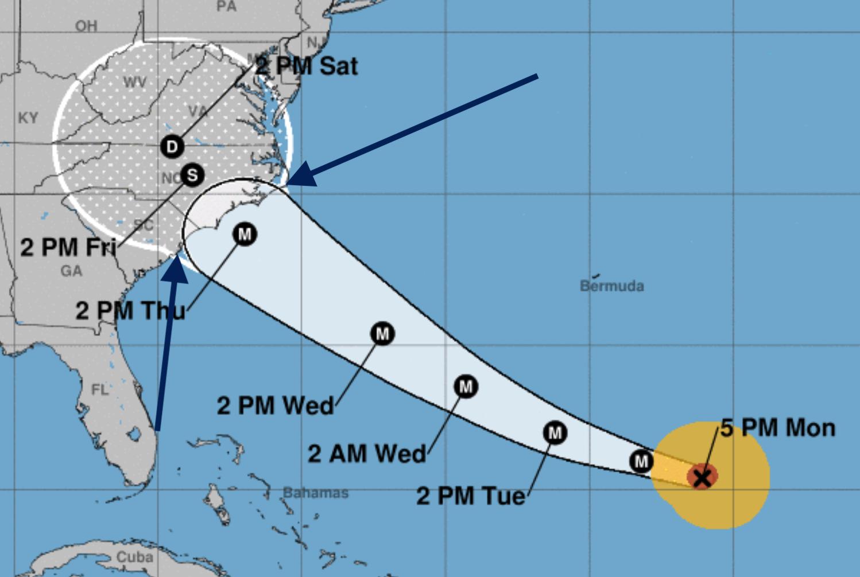 hight resolution of hurricane diagram