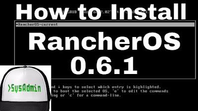 RancherOS 0.6.1