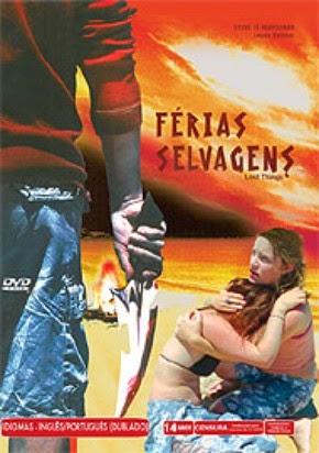 Filme Férias Selvagens DVD Capa