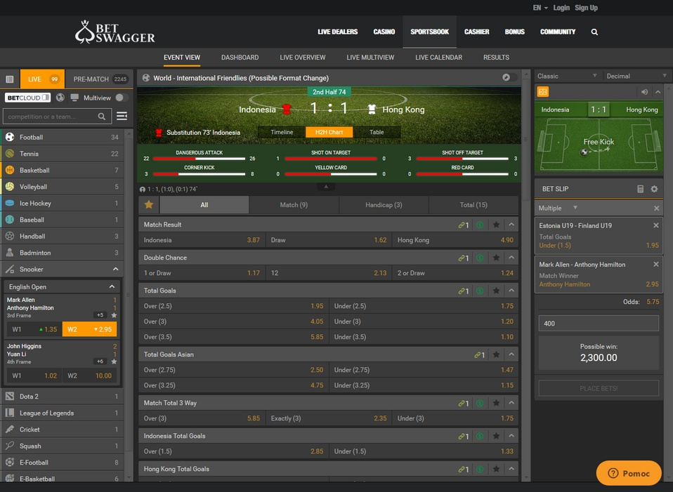 Betswagger Screen